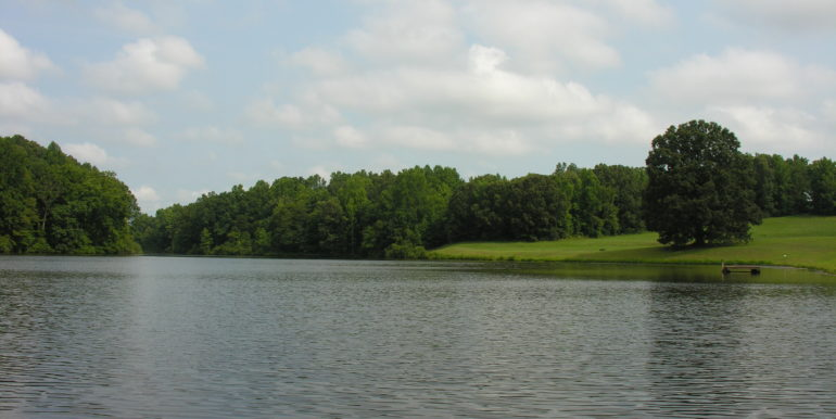 waterfront land