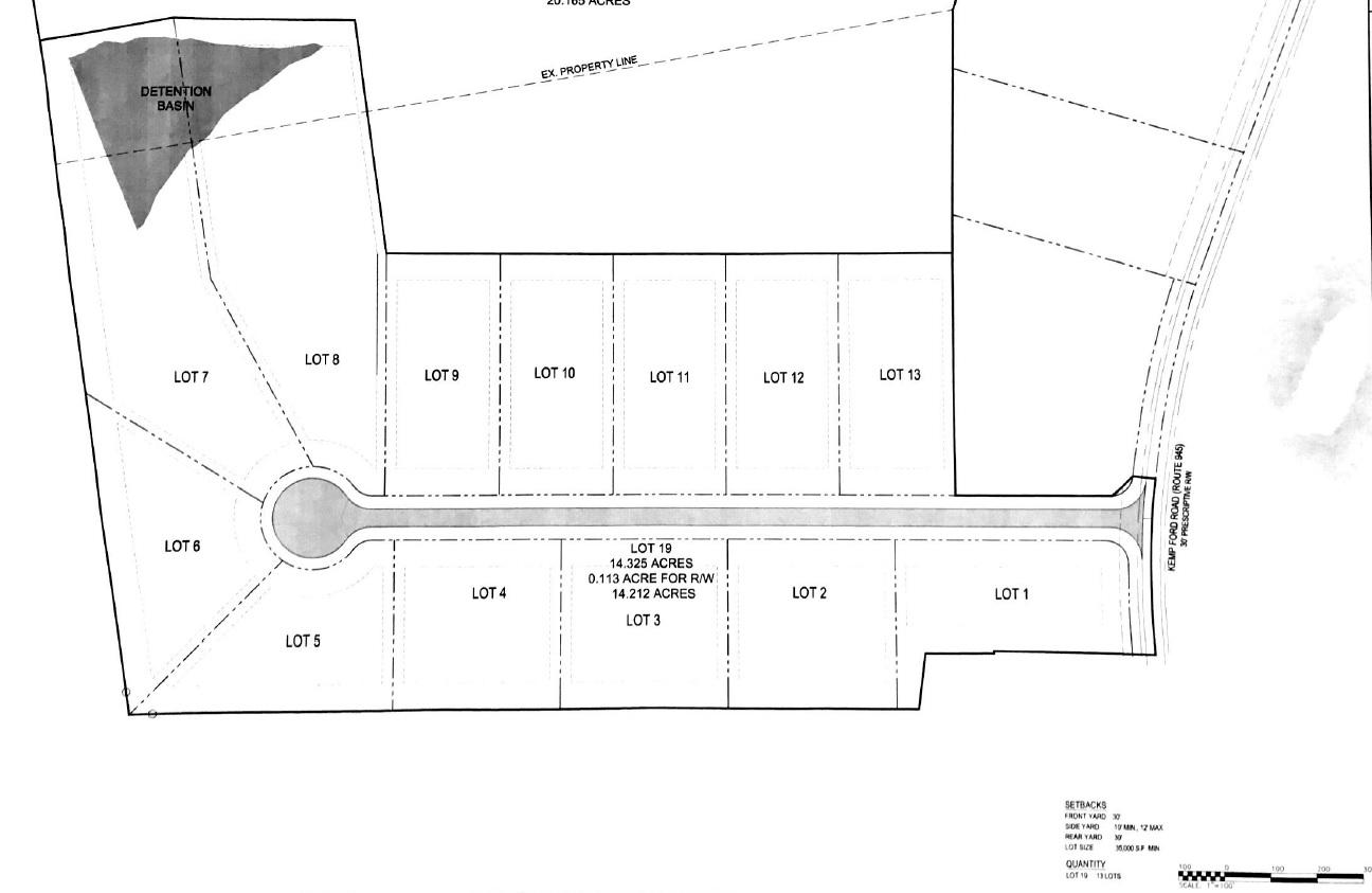 13-Lot Subdivision Opportunity near Rocky Mount, VA